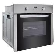 vidaXL Oven elektrisch inbouw 8 functies klasse A roestvrij staal