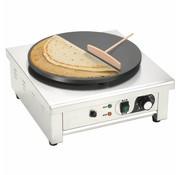 vidaXL Elektrische crêpemaker met lekbakje 40 cm 3000 W