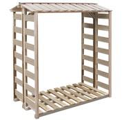 vidaXL Haardhout opslag 150x100x176 cm FSC geïmpregneerd grenenhout