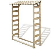 vidaXL Haardhout opslag 150x44x176 cm FSC geïmpregneerd grenenhout