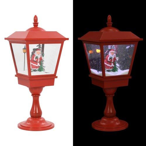 vidaXL Sokkellamp met kerstman LED 64 cm