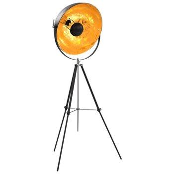 Lamp staand E27 51 cm zwart en goud