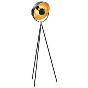 Lamp staand E27 31 cm zwart en goud