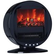 WarmTech Elektrische kachel met vlameffect - 2000W - zwenkend