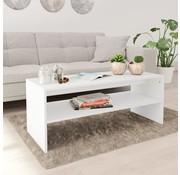 vidaXL Salontafel 100x40x40 cm spaanplaat wit