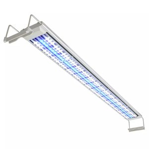vidaXL Aquarium LED-lamp 100-110 cm aluminium IP67