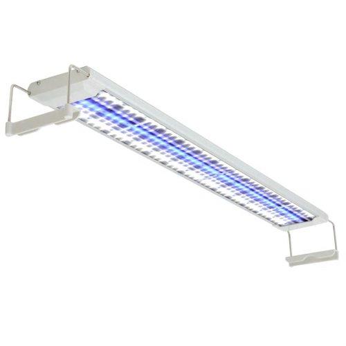 vidaXL Aquarium LED-lamp 80-90 cm aluminium IP67