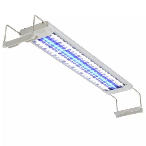vidaXL Aquarium LED-lamp 50-60 cm aluminium IP67
