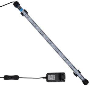vidaXL LED-aquariumlamp 48 cm blauw