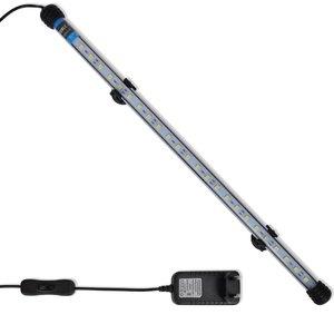 vidaXL LED-aquariumlamp 48 cm wit
