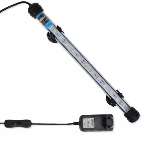 vidaXL LED-aquariumlamp 28 cm wit