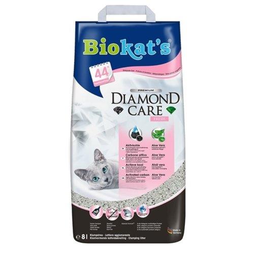 Biokat's Biokat's kattenbakvulling  diamond care fresh