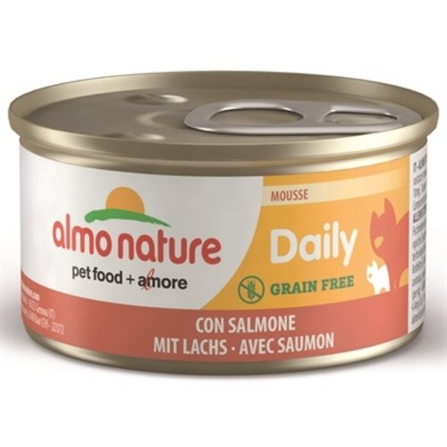 Almo Almo daily menu mousse met zalm