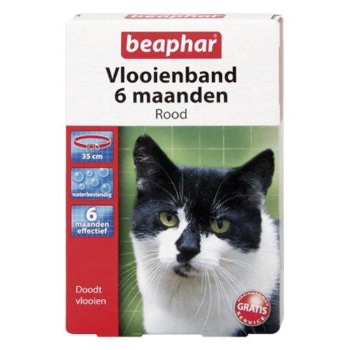 Beaphar Beaphar vlooienband kat rood