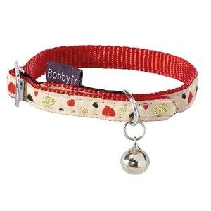 Bobby Bobby halsband kat lovely beige / rood