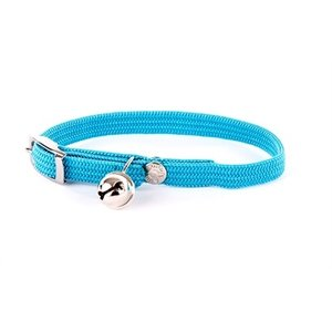 Martin sellier Halsband kat elastisch nylon turquoise