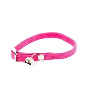 Martin sellier Halsband kat elastisch nylon roze