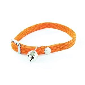 Martin sellier Halsband kat elastisch nylon oranje