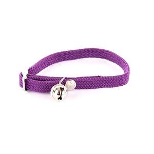 Martin sellier Halsband kat elastisch nylon paars