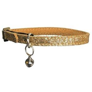 Bobby Bobby kattenhalsband glitter goud