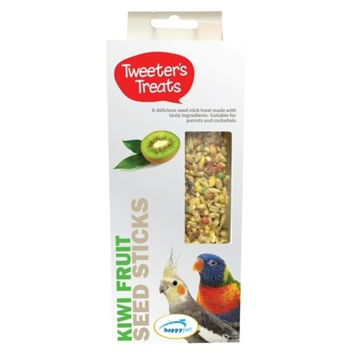 Tweeter's treats Tweeter's treats zaadsticks papegaai kiwi