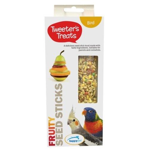 Tweeter's treats Tweeter's treats zaadsticks papegaai fruit