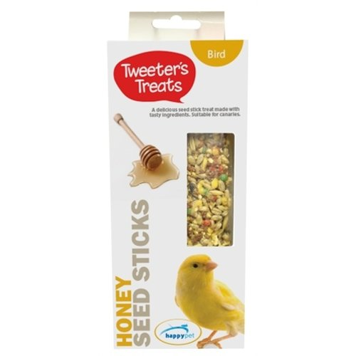 Tweeter's treats Tweeter's treats zaadsticks kanarie honing