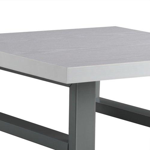 vidaXL Badkamer wandschap voor wastafel 40x40x16,3 cm wit