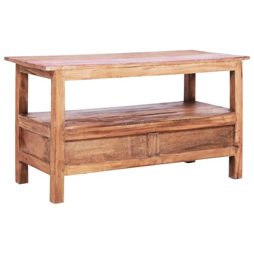 vidaXL Tv-meubel 90x40x50 cm massief gerecycled hout