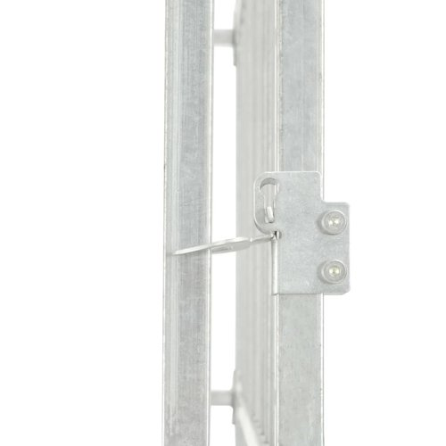 vidaXL Hondenkennel voor buiten 450x150x185 cm