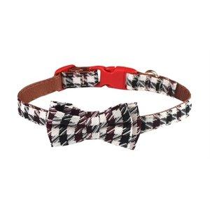 Croci Croci halsband hond bordeaux braid