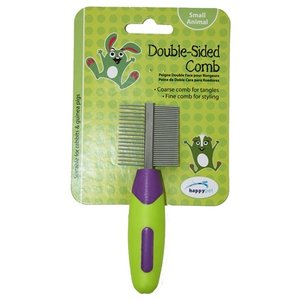 Happy pet Happy pet knaagdier double sided comb
