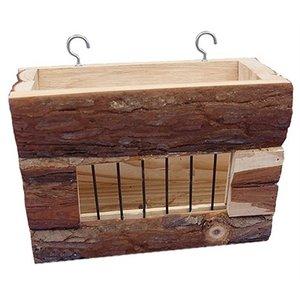 Happy pet Happy pet raw houten hooiruif