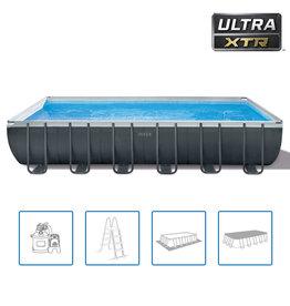 Intex Zwembadset Ultra XTR Frame rechthoekig 732x366x132 cm