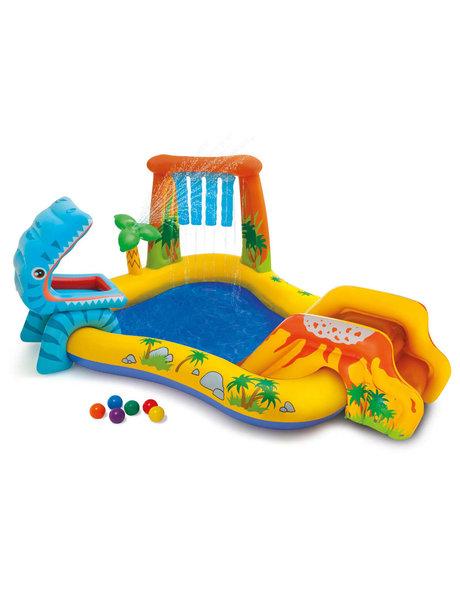 Intex Opblaaszwembad Dinosaur Play Center 249x191x109 cm 57444NP