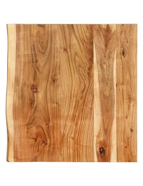 vidaXL Wastafelblad 60x55x3,8 cm massief acaciahout