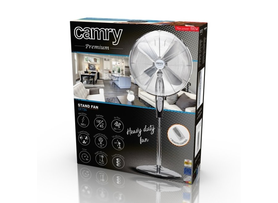CR7314 - Standing fan - with remote control
