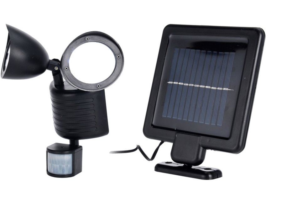DUO Solar lamp with motion detector