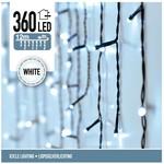 DecorativeLighting IJspegel verlichting 360 LED's 12 meter wit