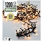 Micro Cluster 1200 LED's 24 meter extra warm wit