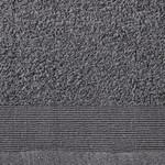 12-delige Doekenset 450 g/m² katoen antraciet
