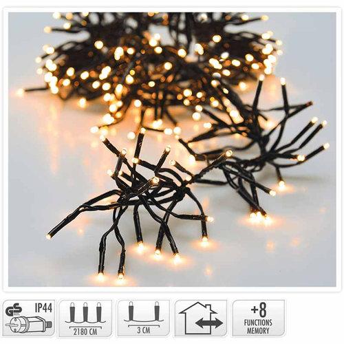 DecorativeLighting Clusterverlichting - 3000 LED - 22m - extra warm wit