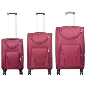 travelsuitcase 3 Delig kofferset nylon Marie