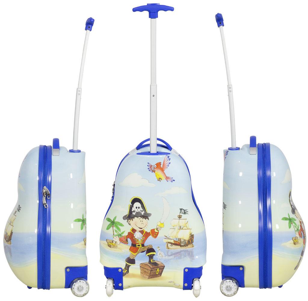 travelsuitcase Kinder kofferset 2 delig Piraat