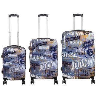 travelsuitcase 3 delig Kofferset Broadway