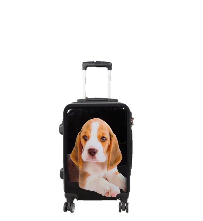 travelsuitcase 3 delig kofferset Beagle