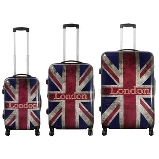 travelsuitcase 3 Delig kofferset London