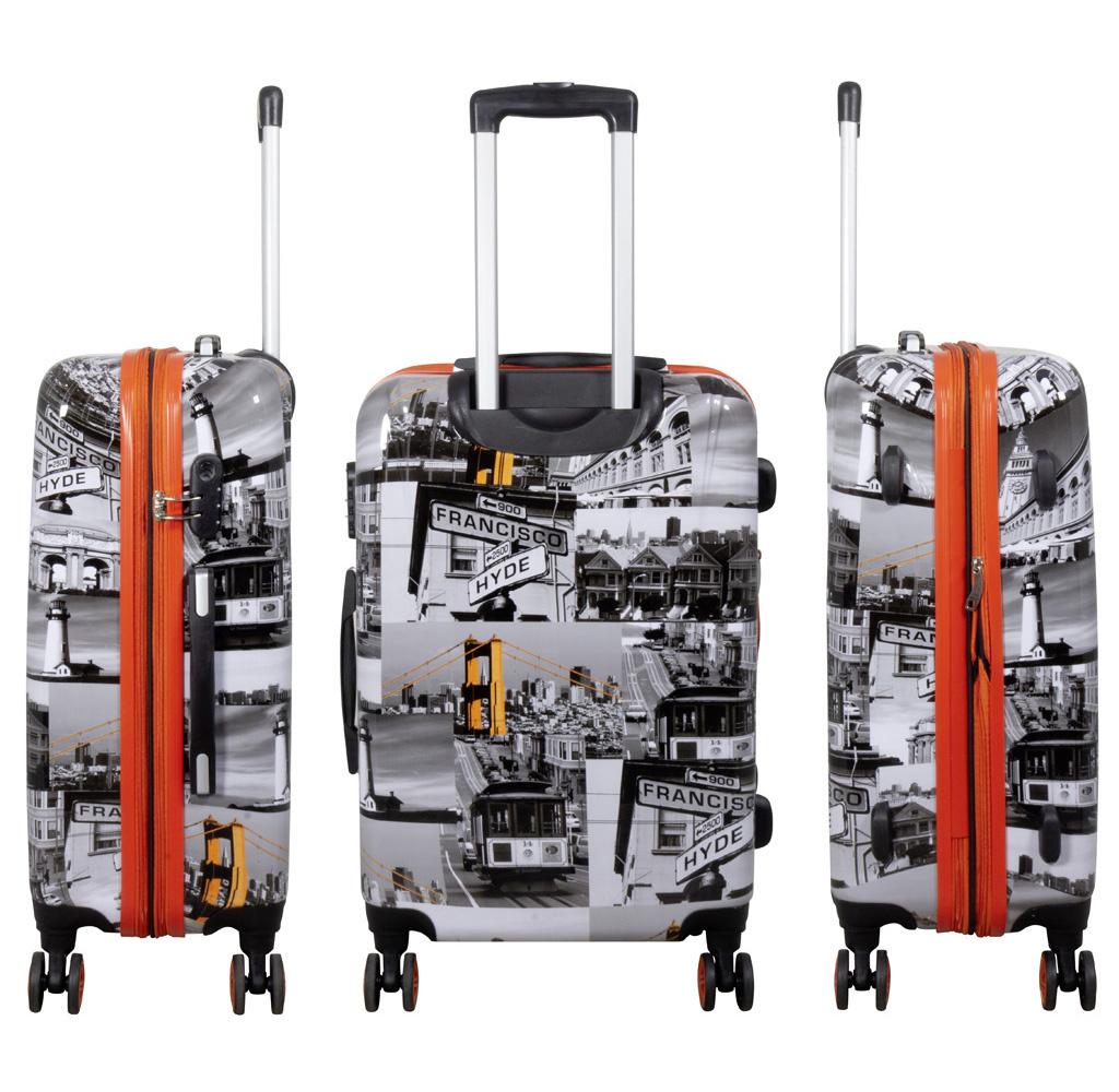 travelsuitcase 3 delig kofferset San Francisco