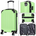 travelsuitcase koffers Diva Deluxe. Groen