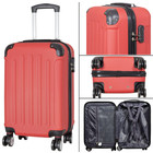 travelsuitcase koffers Diva Deluxe. Rood